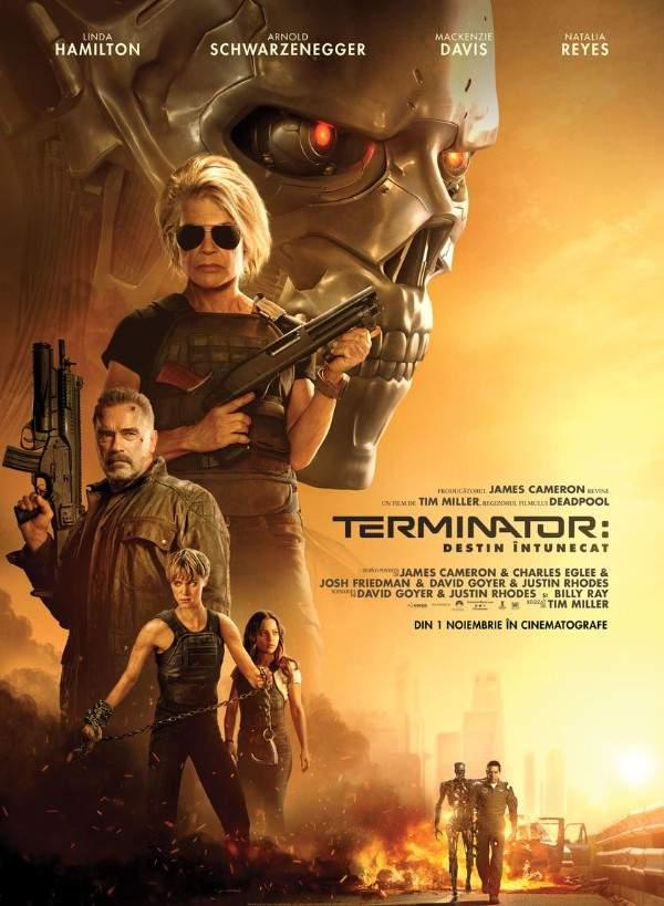 Terminator: Dark Fate (2019) – Vino cu mine dacă vrei să trăiești o aventură decentă
