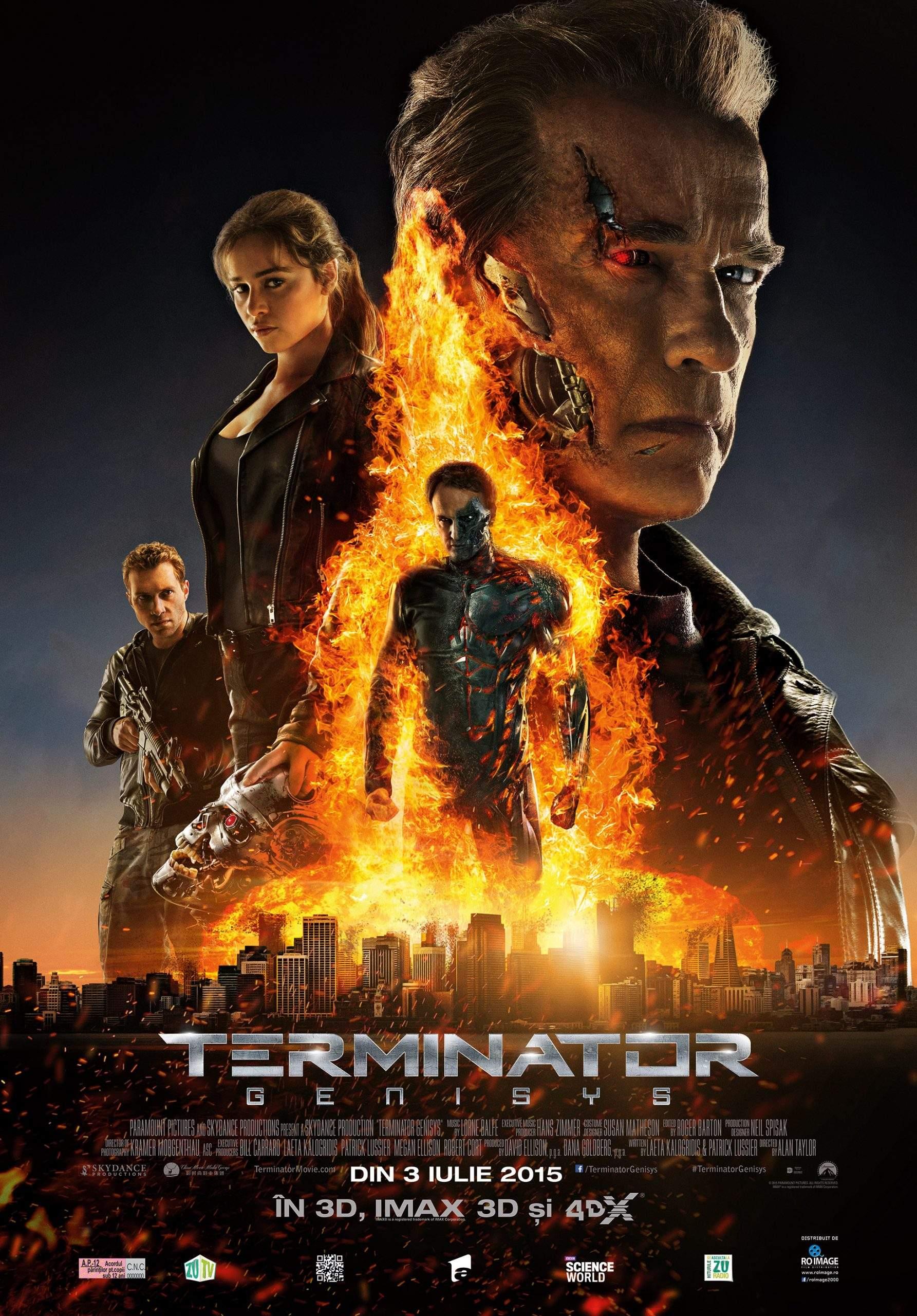 Terminator: Genisys (2015) – T-1000 și una de nopți