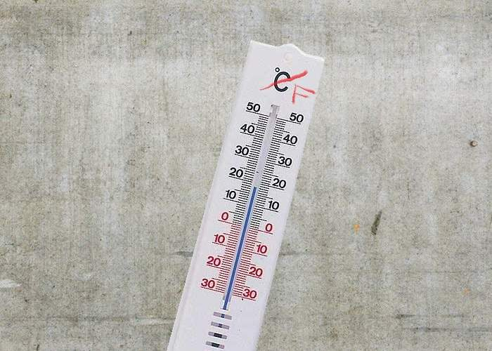 """Caracalean supărat: Am şters """"Celsius"""" de pe termometru şi am scris """"Fahrenheit"""", dar tot mi-e cald"""