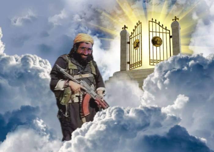Un terorist ISIS nu poate profita de cele 72 de virgine! A rămas fara penis dupa ce s-a detonat