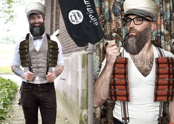 Centurile sunt demodate! Au apărut teroriştii hipsteri, care poartă bretele cu explozibil