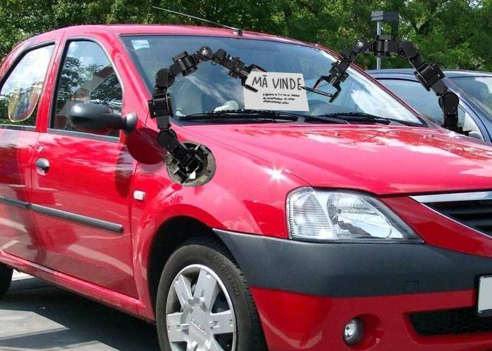 Un start-up românesc vrea să lanseze maşina care se vinde singură când rămâi fără bani de băutură