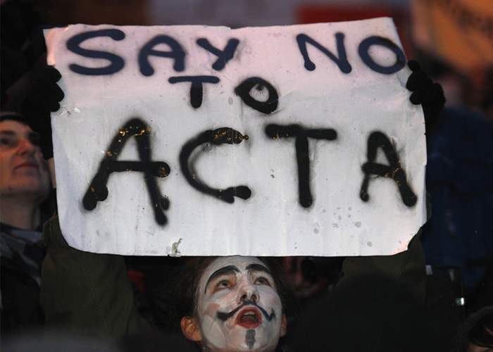 Textul ACTA, disponibil doar pe torrente în variantă trasă din sală!