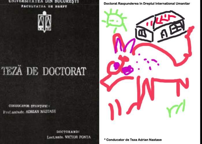 Curtea Supremă respinge dosarul de plagiat al lui Ponta: Mâzgăleala aia nu poate fi numită doctorat