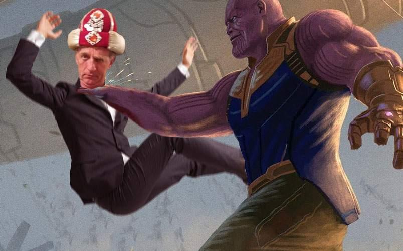 Thanos l-a retras pe ministrul Cercetării, pentru că a divulgat planul secret al titanilor