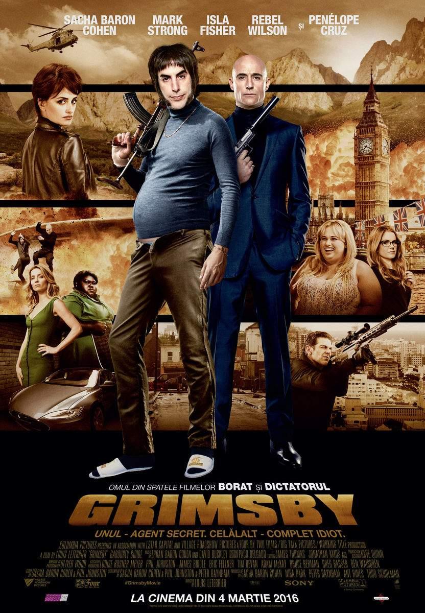 Grimsby (2016) – Sex-surpriză cu elefanți