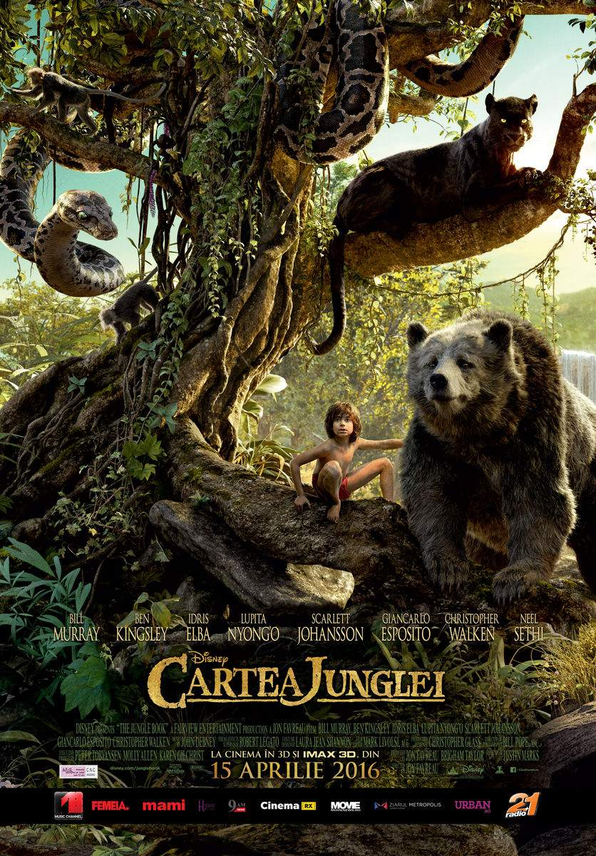 The Jungle Book (2016) – Sssă-l vedeți