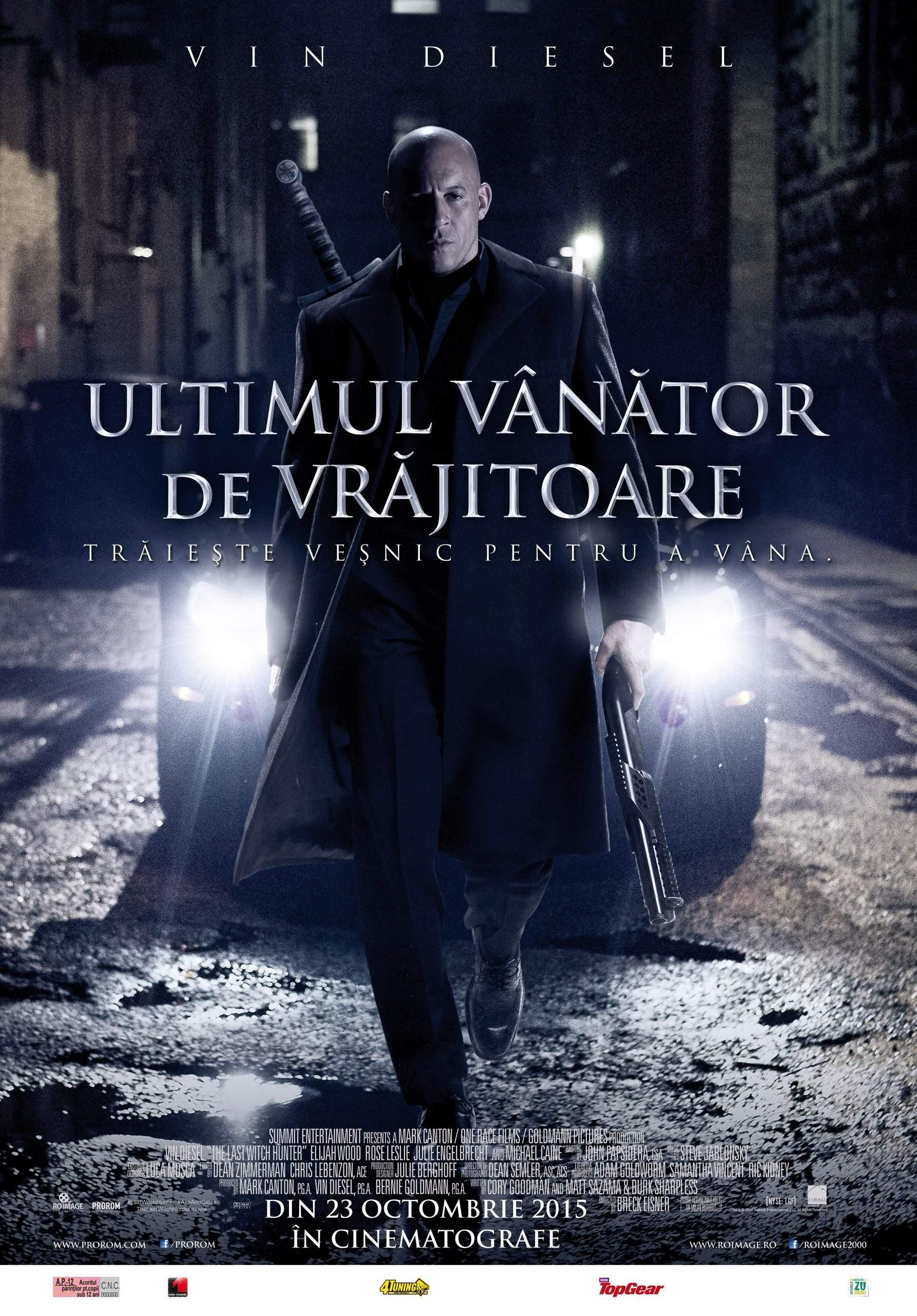 The Last Witch Hunter (2015) – Un prinț deprimant îndrăgind vânătoarea…