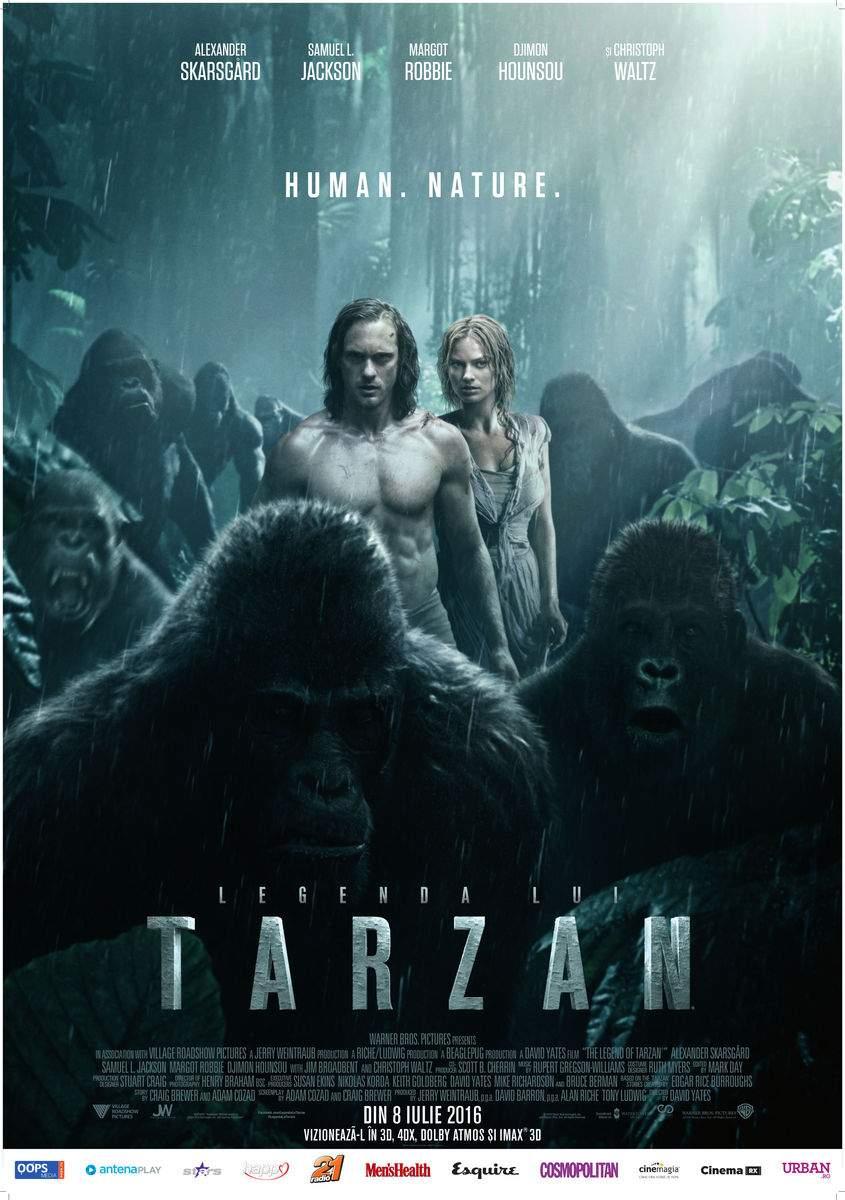 The Legend of Tarzan 3D (2016) – Doamnele, dați-vă pe brazda inghinală!
