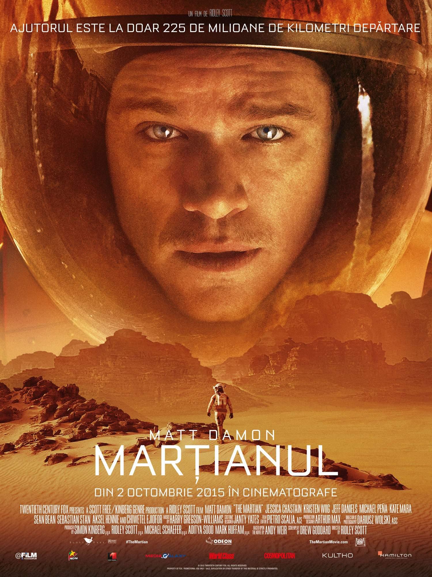 The Martian (2015) – Noi vrem pământ. Pe Marte
