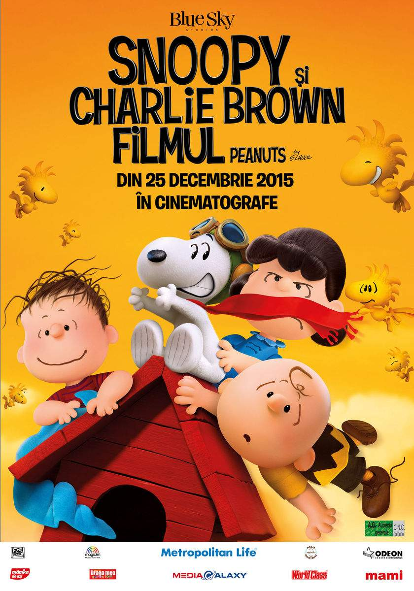 The Peanuts Movie (2015) – Atât de liniștit, atât de subversiv…
