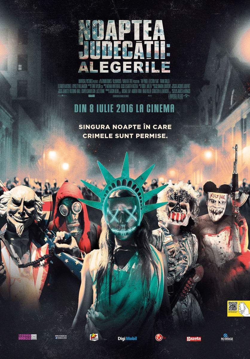 The Purge: Election Year (2016) – Yesterday, purge was such an easy game to play