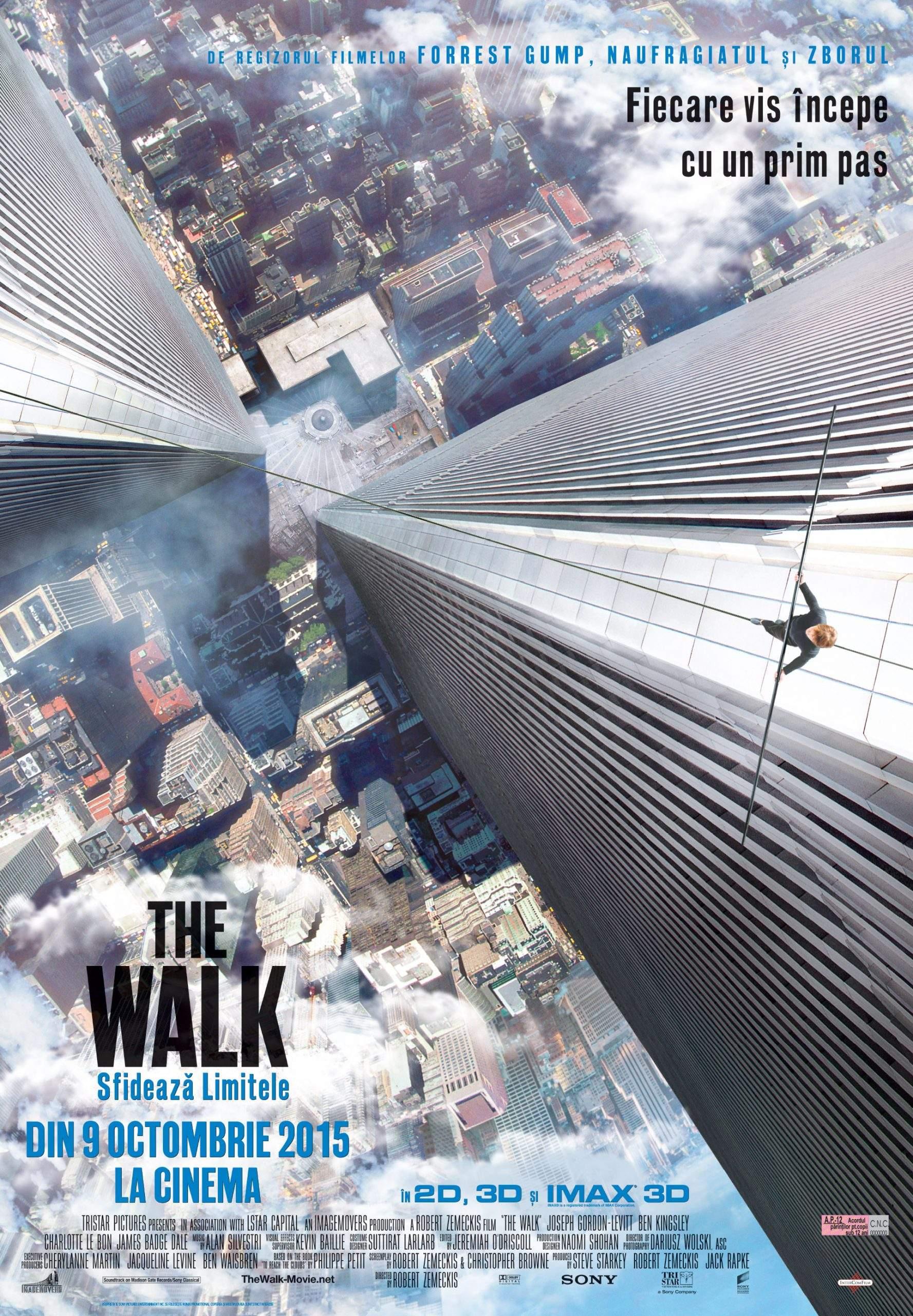 The Walk (2015) – Odă nebuniei