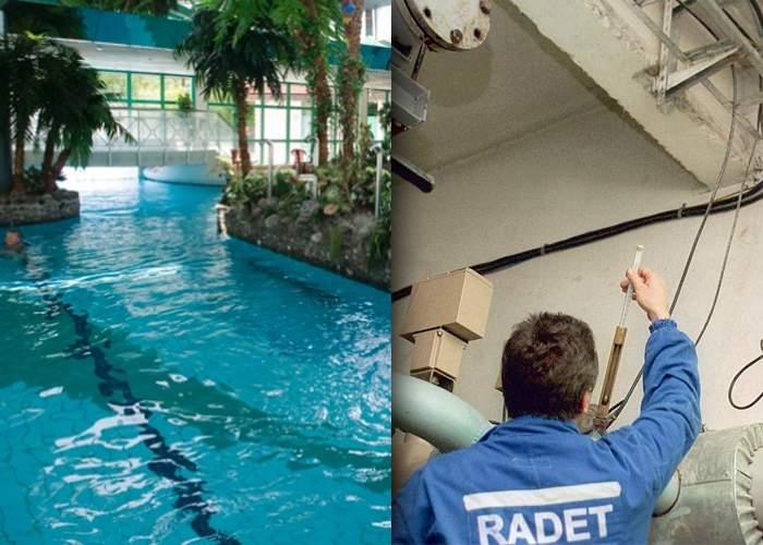 Adio, Therme! RADET a reparat ţeava care a produs zăcământul de apă termală de sub Bucureşti