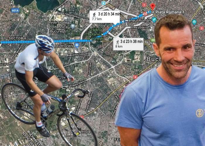 După Arctic Ultra, Tibi Uşeriu se pregăteşte de ceva şi mai greu. Va veni cu bicicleta din Militari până la Romană!