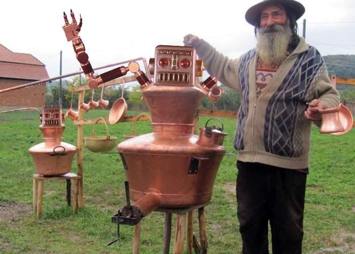 Surse: ţiganii adună fier vechi pentru că vor să construiască o armată de roboţi