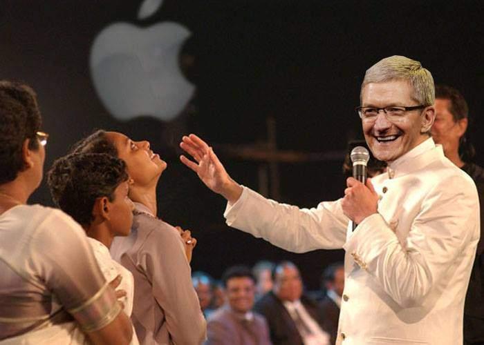 Isterie pe scenă la lansarea Apple. Tim Cook a vindecat un om cu stylusul