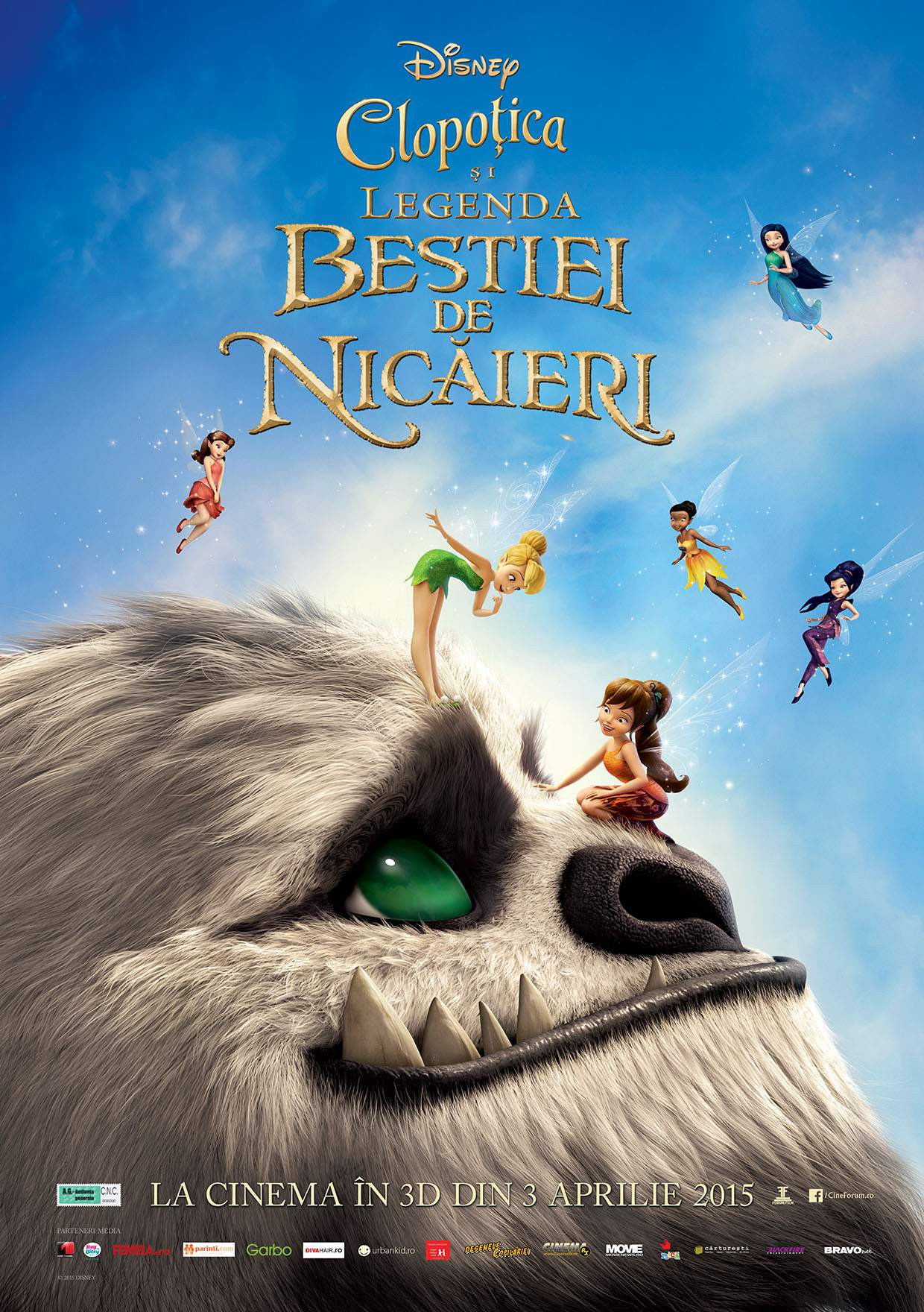 Tinker Bell and the Legend of the NeverBeast – Iubiți și monstruleții vagabonzi