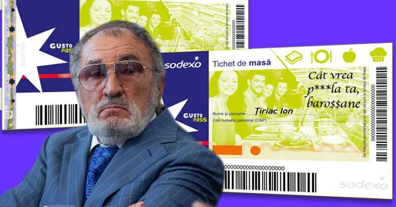 Nu degeaba e cel mai bogat român! Ion Ţiriac are bonuri de masă în alb