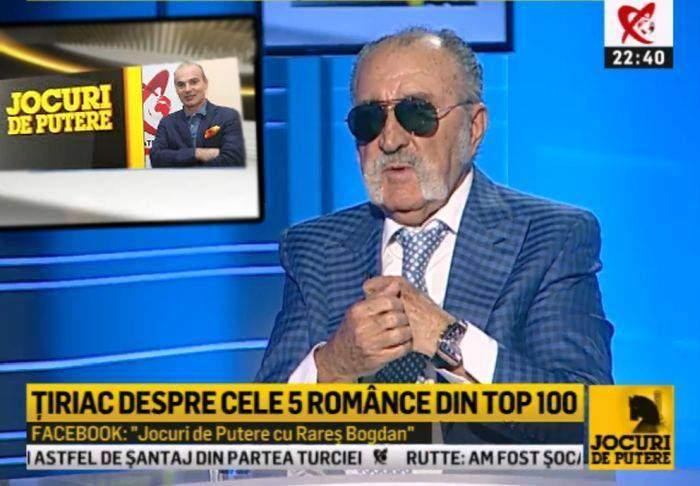 """Ion Țiriac: """"Am spus că între hoț și prost prefer hoțul pentru că-l aveam în față pe Rareș Bogdan"""""""