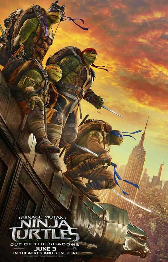 Teenage Mutant Ninja Turtles: Out of the Shadows (2016) – Cowabunga!