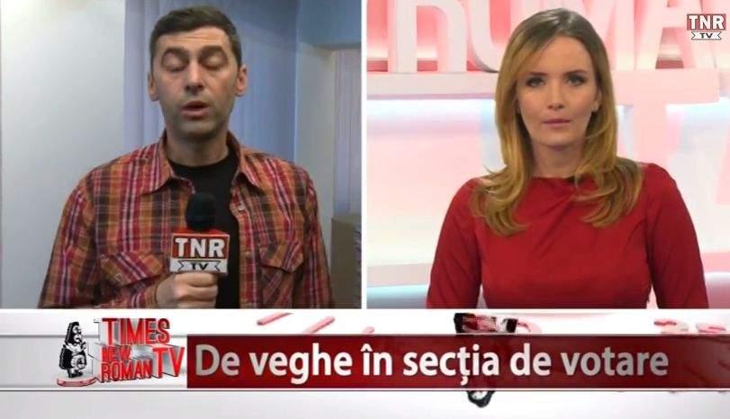 VIDEO! Times New Roman TV, ediția specială dedicată alegerilor de duminică