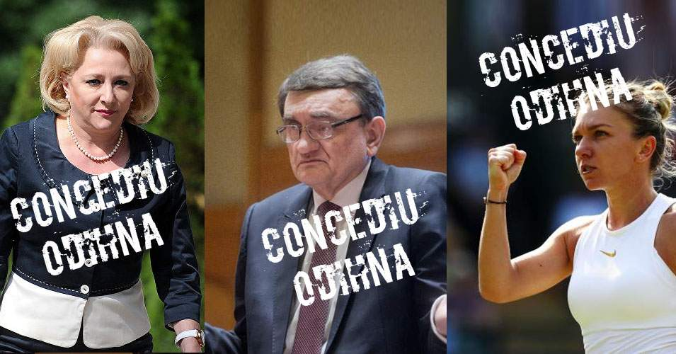 România, paralizată. Premierul, Avocatul Poporului şi Simona Halep sunt în concediu!