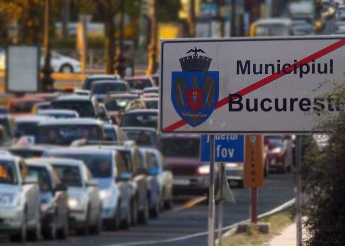 Trafic infernal în comunele din jurul Capitalei! Sunt şoferi din Bucureşti care caută loc de parcare în centru