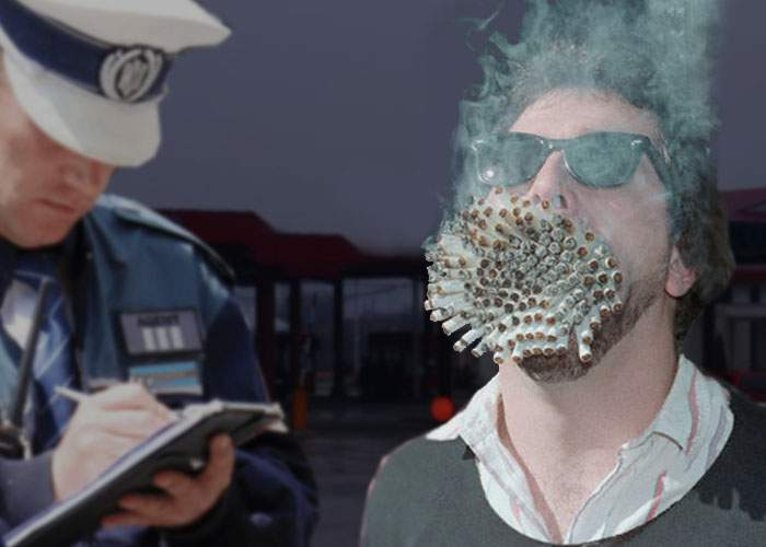 Pedepse noi: Traficanţii prinşi cu ţigări netimbrate vor fi obligaţi să le fumeze pe toate pe loc