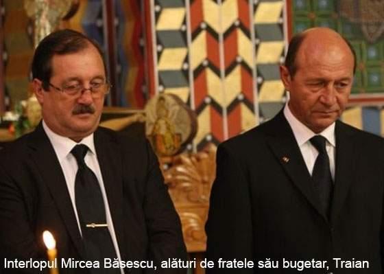 Românii, uimiți că fratele intelopului Mircea Băsescu, Traian, a luat și el bani negri