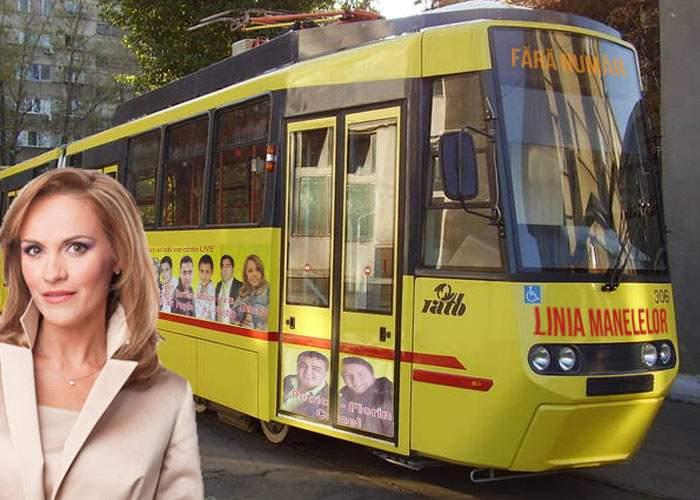 Ţine la alegătorii ei! Gabi Firea promite tramvaie speciale pentru manelişti