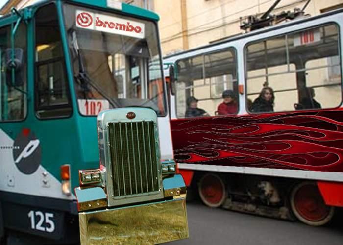 Poliţia Capitalei a declarat război vatmanilor teribilişti care fac curse ilegale de tramvaie