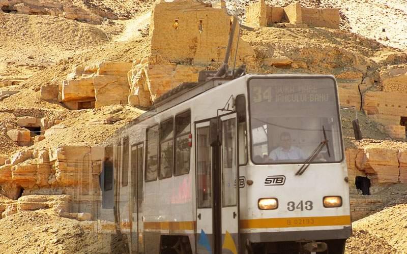 Tramvaiele STB rămân fără piese de schimb: Egiptul a închis situl arheologic de la Aswan