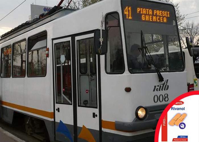 Suspendarea tramvaiului 41 a băgat în colaps vânzările de leucoplast cu rivanol
