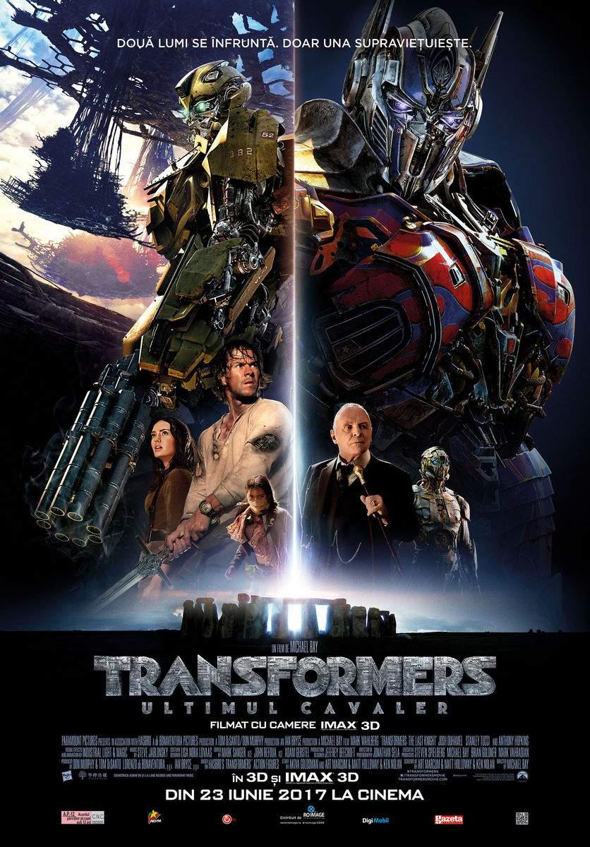 "Transformers: The Last Knight 3D (2017) – ""Formare, transformare! A noimelor eterne eternă perindare!"""