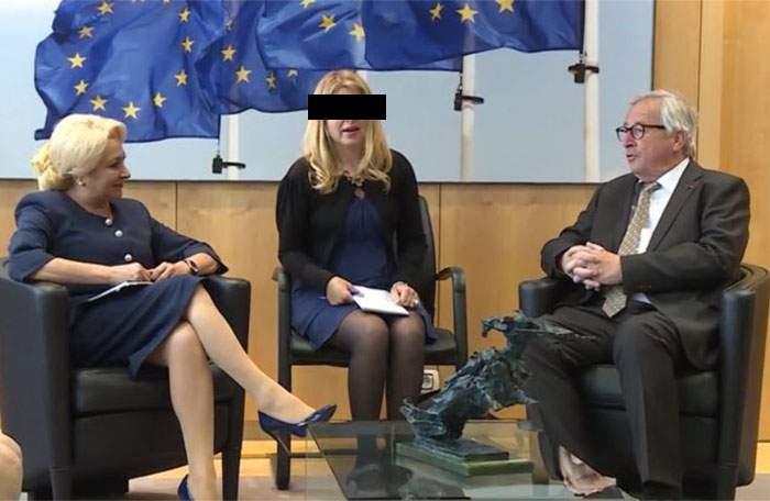 """Translatorul Vioricăi Dăncilă, cea mai uşoară muncă din lume! """"Hehe"""" se spune la fel în toate limbile"""