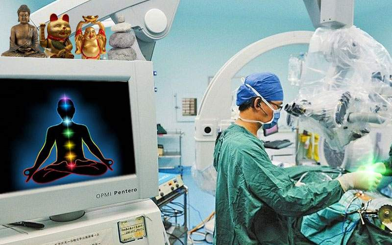 Primul transplant de chakre din România, un succes. Pacientul a făcut yoga a doua zi