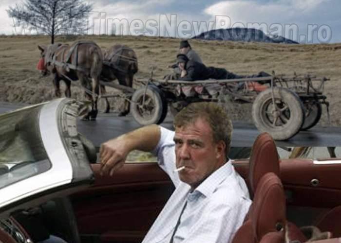 Jeremy Clarkson a condus o mașină pe Transvasluiana, cea mai săracă şosea din Europa