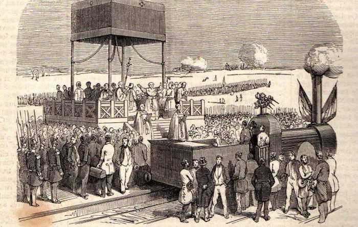 Bulgarii se temeau de primele trenuri