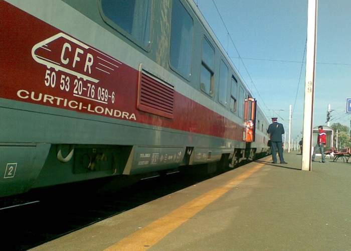 Record! Un călător întârziat care a încercat să prindă un tren a ajuns înaintea lui la destinaţie