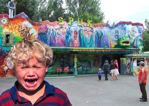 Întârzierile CFR distrug Halloweenul! Copiii aşteaptă de 4 ore trenuleţul groazei