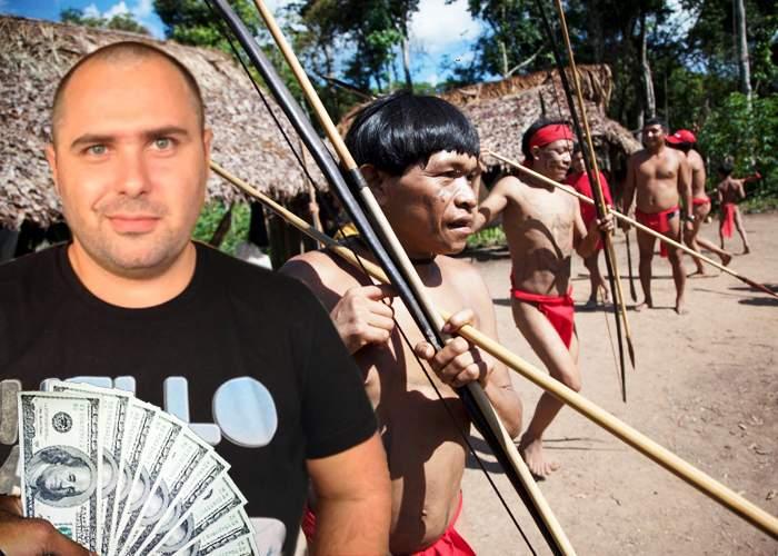 Un român a descoperit un nou trib în Amazon şi le-a cerut nişte bani împrumut