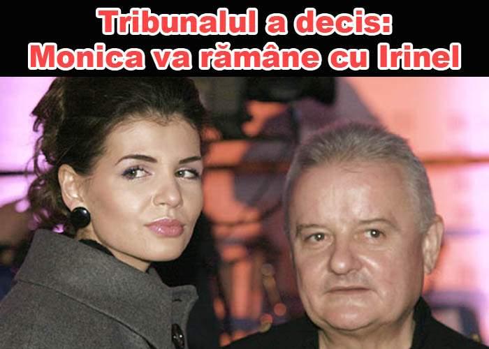 Tribunalul București a decis ca Irinel Columbeanu să rămână cu Monica