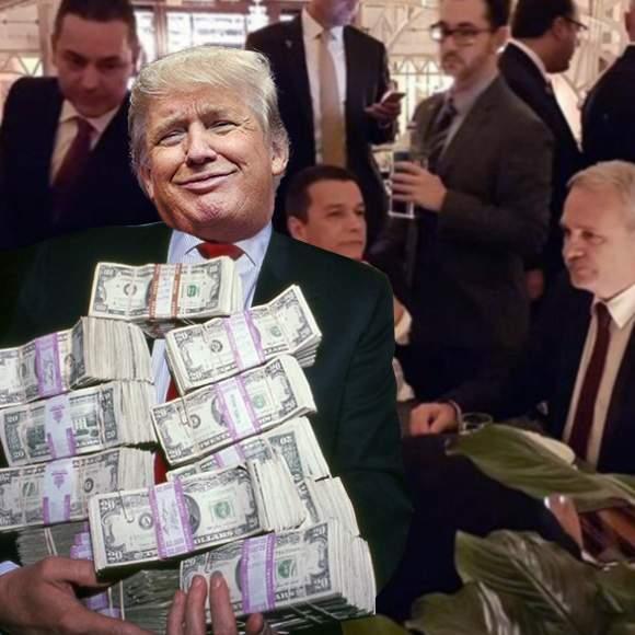 Poza zilei! Dovada clară că dineul lui Trump la care s-a dus Dragnea a fost cu strigare