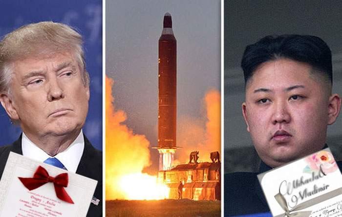 Ameninţările cu războiul nuclear se explică: Trump şi Kim, stresaţi fiindcă au amândoi o nuntă sâmbătă