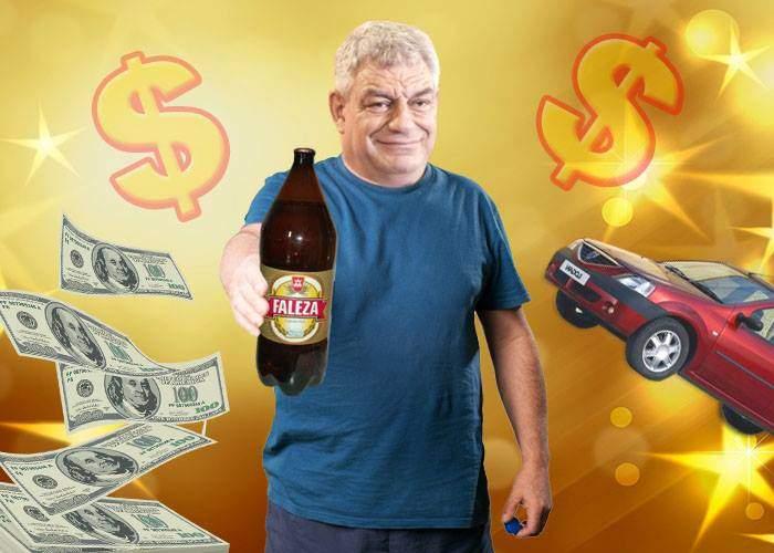 Tudose a făcut rost de bani de salarii după ce a găsit premiul cel mare sub un capac de bere