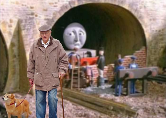 Adio, metrou! Pensionarii din Drumul Taberei au astupat tunelul, că se făcea curent