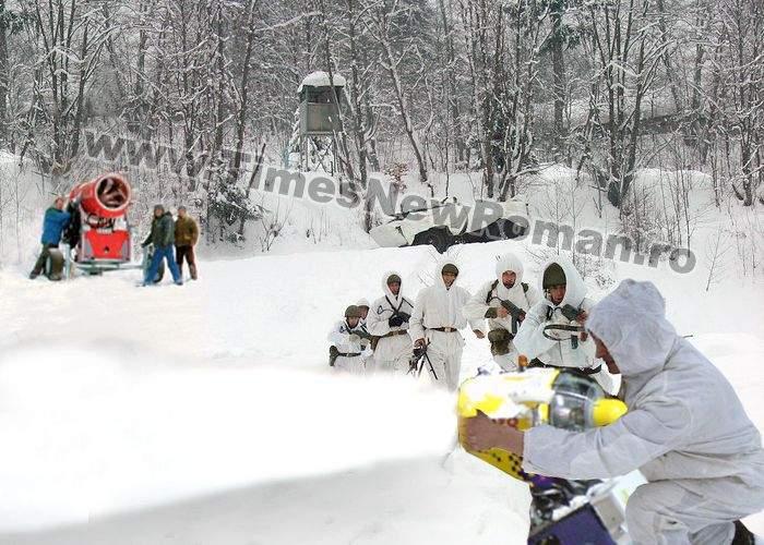 Măcel pe pârtie: Armata a tras cu tunurile de zăpadă în schiori