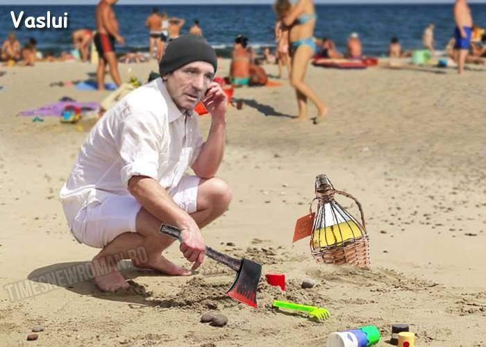 Fotogalerie! Cum se joacă în nisip turiștii români, în funcție de județ