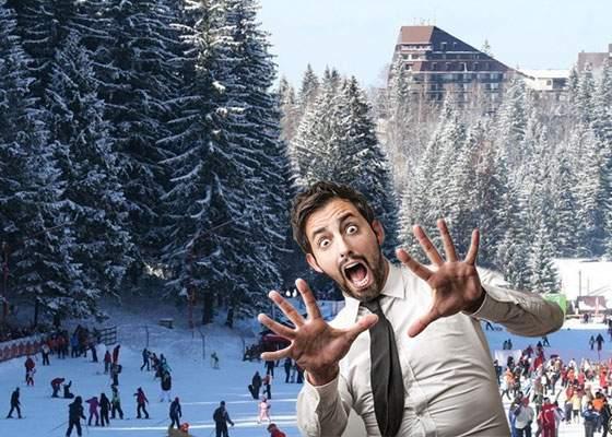 Turiștii din Poiana Brașov, rugați să nu mai urle când văd nota, că riscă să declanșeze o avalanșă